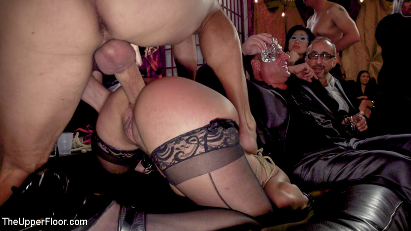 Sexy Submissives Serve BDSM Swingers Ball (Kink)