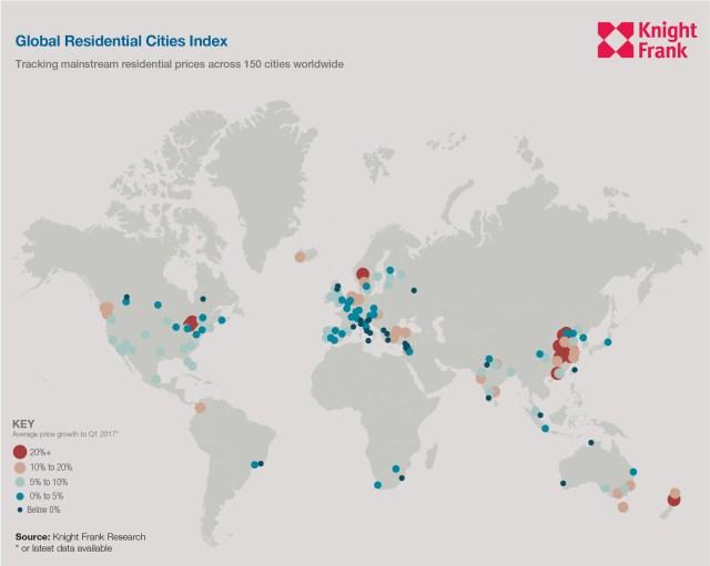 Картинки по запросу Global Residential Cities Index
