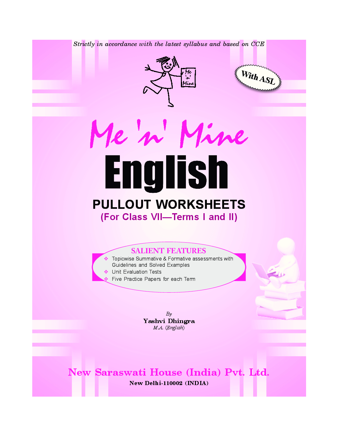 Download Me N Mine English For Class Vii Cbse Pullout Worksheets By Saraswati Experts Online