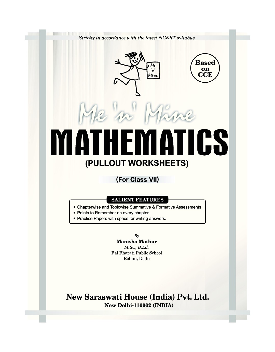 Download Me N Mine Mathematics For Class Vii Cbse Pullout Worksheets By Saraswati Experts
