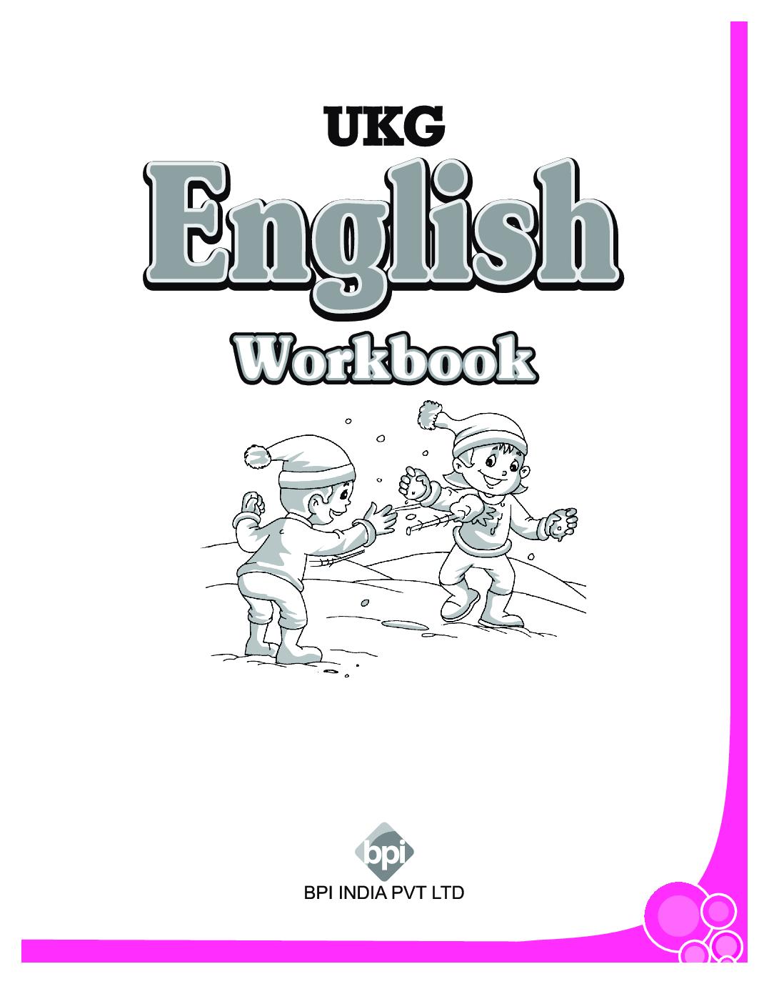 Download Ukg English Workbook By Bpi Online