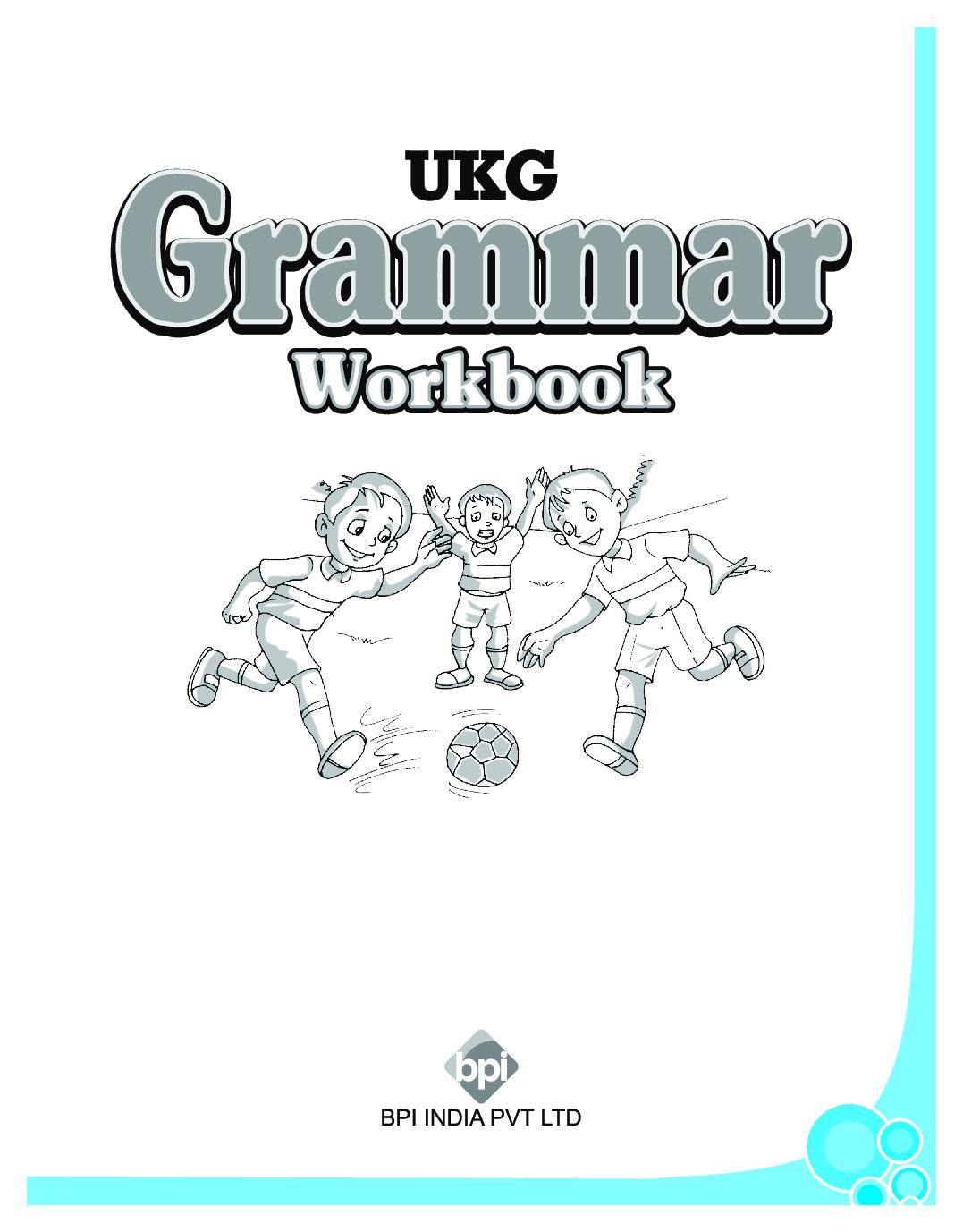 Download Ukg Grammar Workbook By Bpi Online