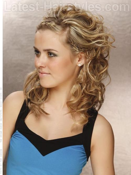 Easy Braided Beauty Prom Hairstyle