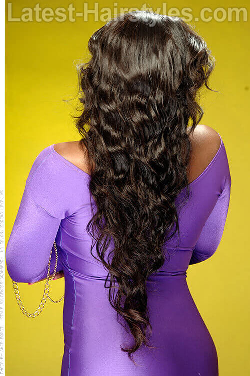 15 Long Hair Extension Ideas For Black Women
