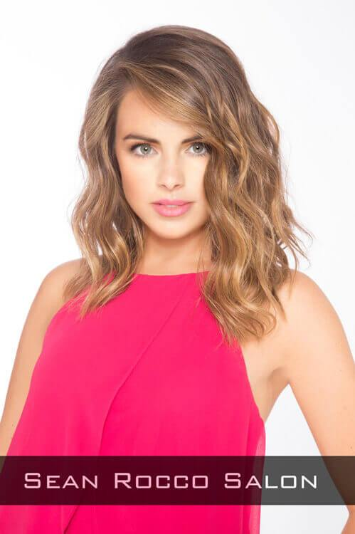 Hairstyle with Natural Wand Curls