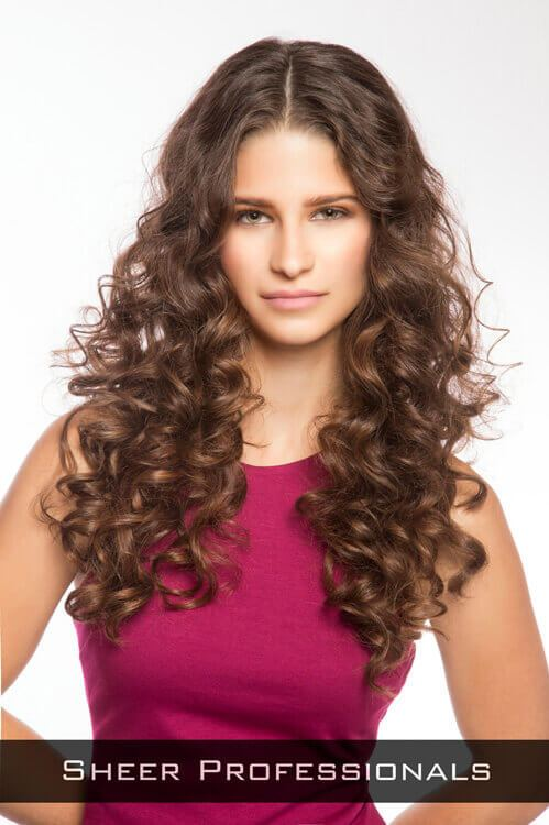 Long Hairstyle with Tight Curls
