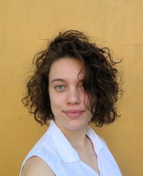Image Result For Curly Hair For Long Hair