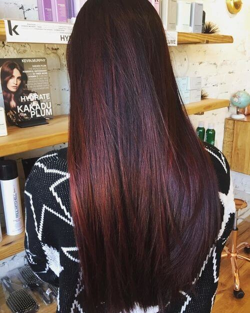 35 Best Burgundy Hair Ideas Of 2019 Yummy Wine Colors