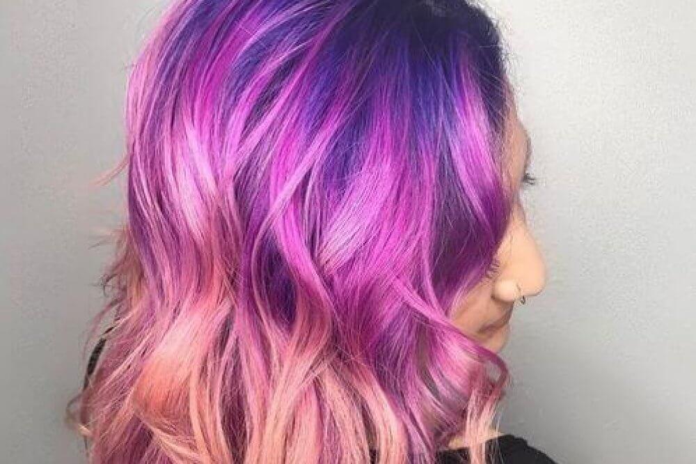 23 Purple Hair Color Ideas Trending In 2018