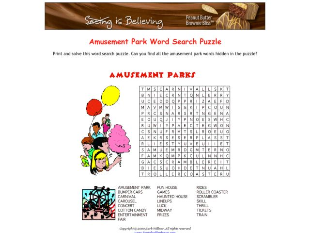 All Worksheets Amusement Park Worksheets Printable