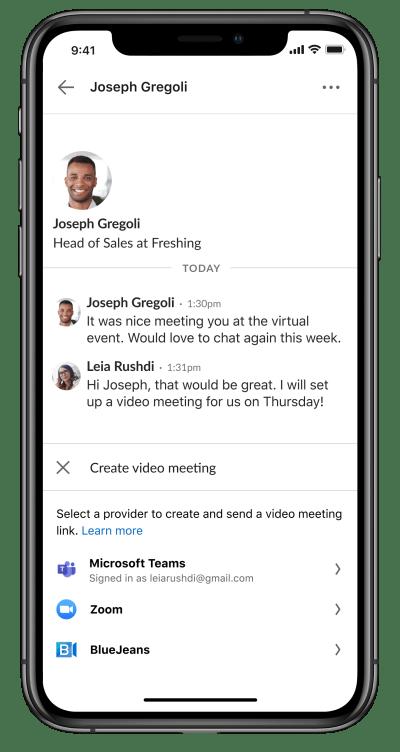meeting messenger