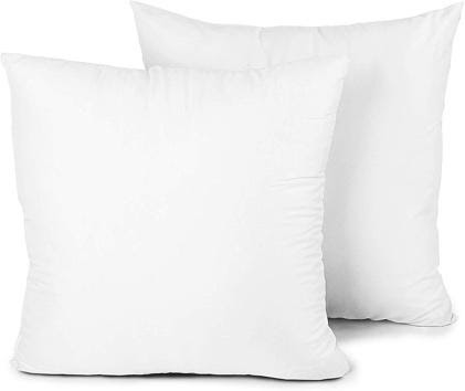 the best 18 x 18 pillow inserts
