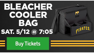 Bleacher Cooler Bag - Saturday, May 12