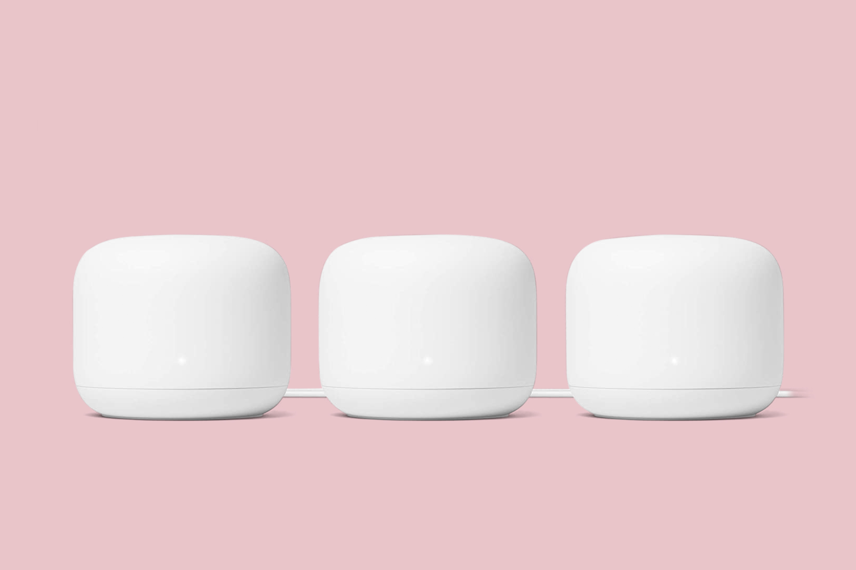 Google Nest WiFi Router 3 Pack