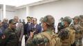 وزير الداخلية يزور المعبر الحدودي بحيدرة والمركز المتقدم السري
