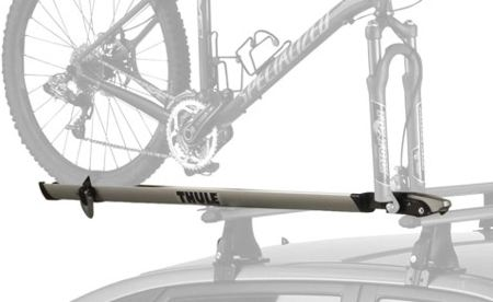 thule echelon fork mount bike rack user