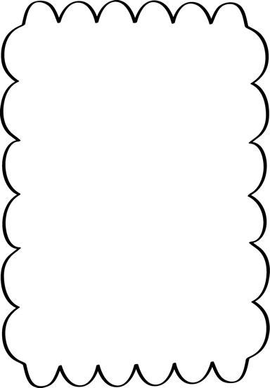 Scalloped Border Free Page Borders