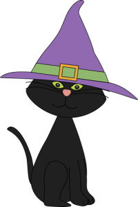 halloween cat face clipart