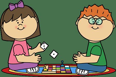 Kids Board Game Clip Art
