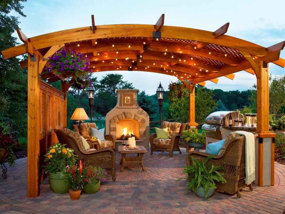Top Backyard Pergola Ideas for Your Garden - KUKUN on Covered Pergola Ideas  id=93856