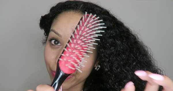 An Easy Lazy Or Busy Day Style For Curly Hair