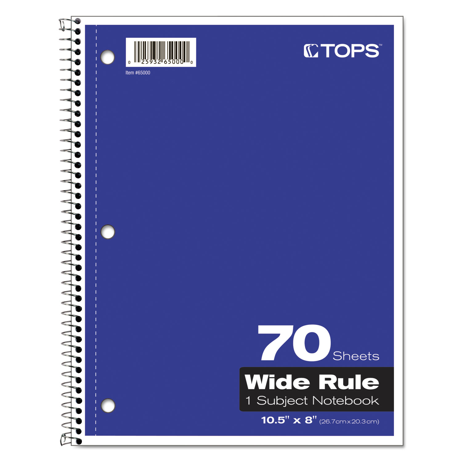 Coil Lock Wirebound Notebooks By Tops Top