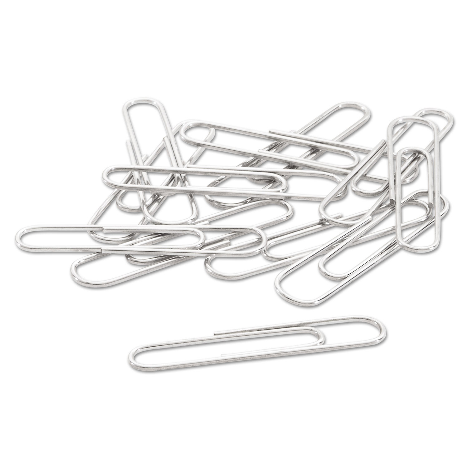 Paper Clips Small No 1 Silver 1 000 Pack