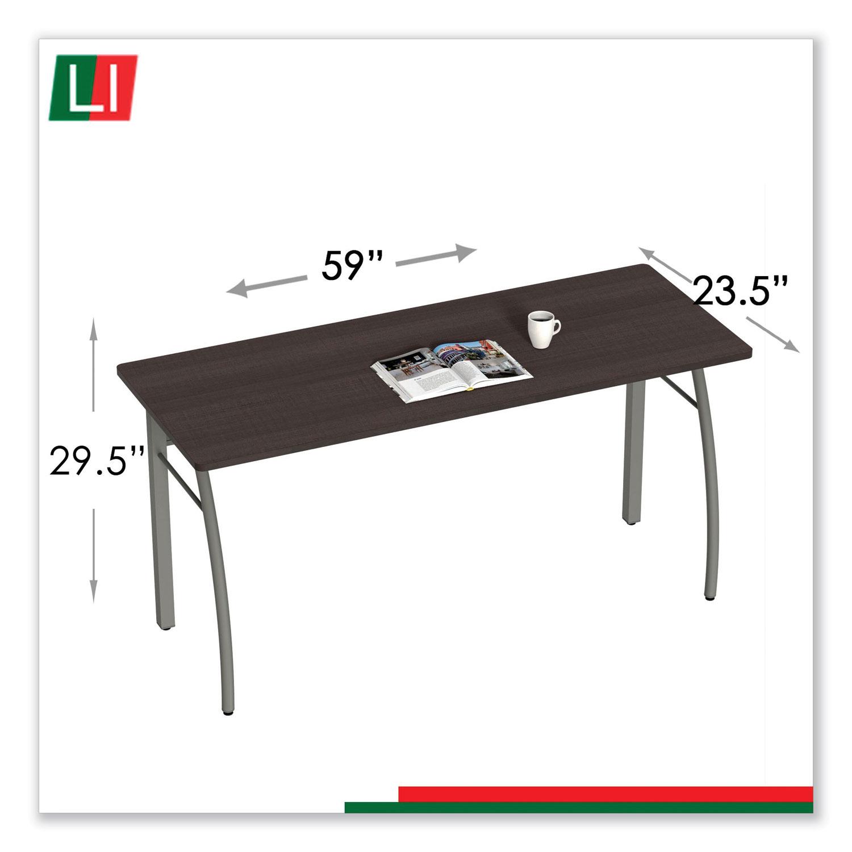 Trento Line Rectangular Desk 59 1 8w X 23 5 8d X 29 1 2h