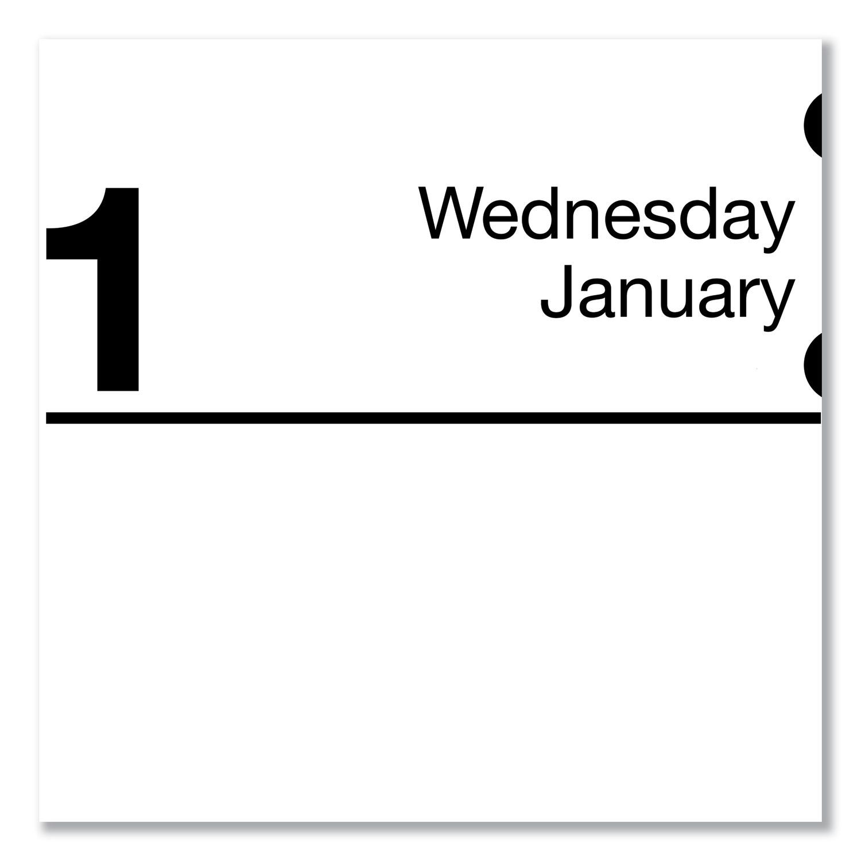 Compact Desk Calendar Refill 3 X 3 3 4 White