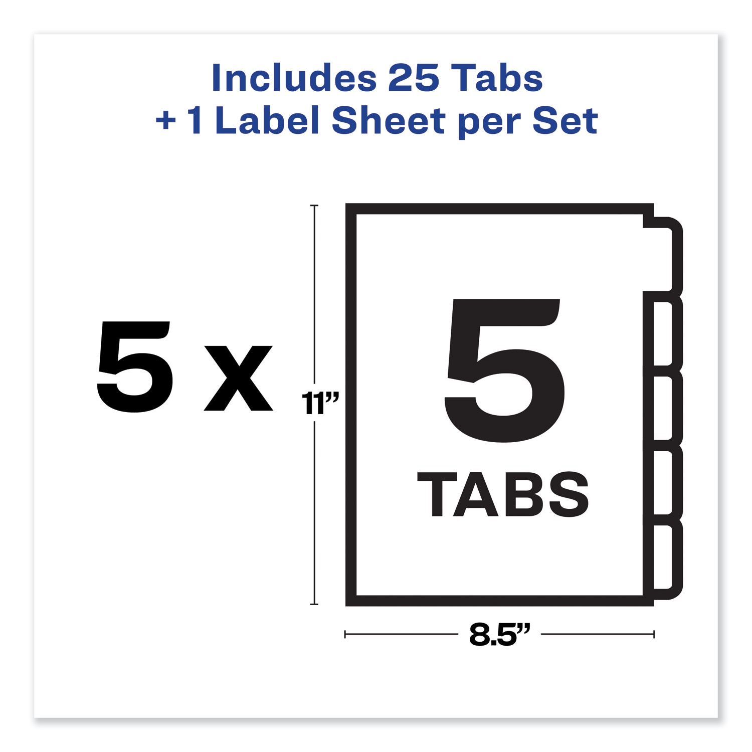 Print And Apply Index Maker Clear Label Unpunched Dividers
