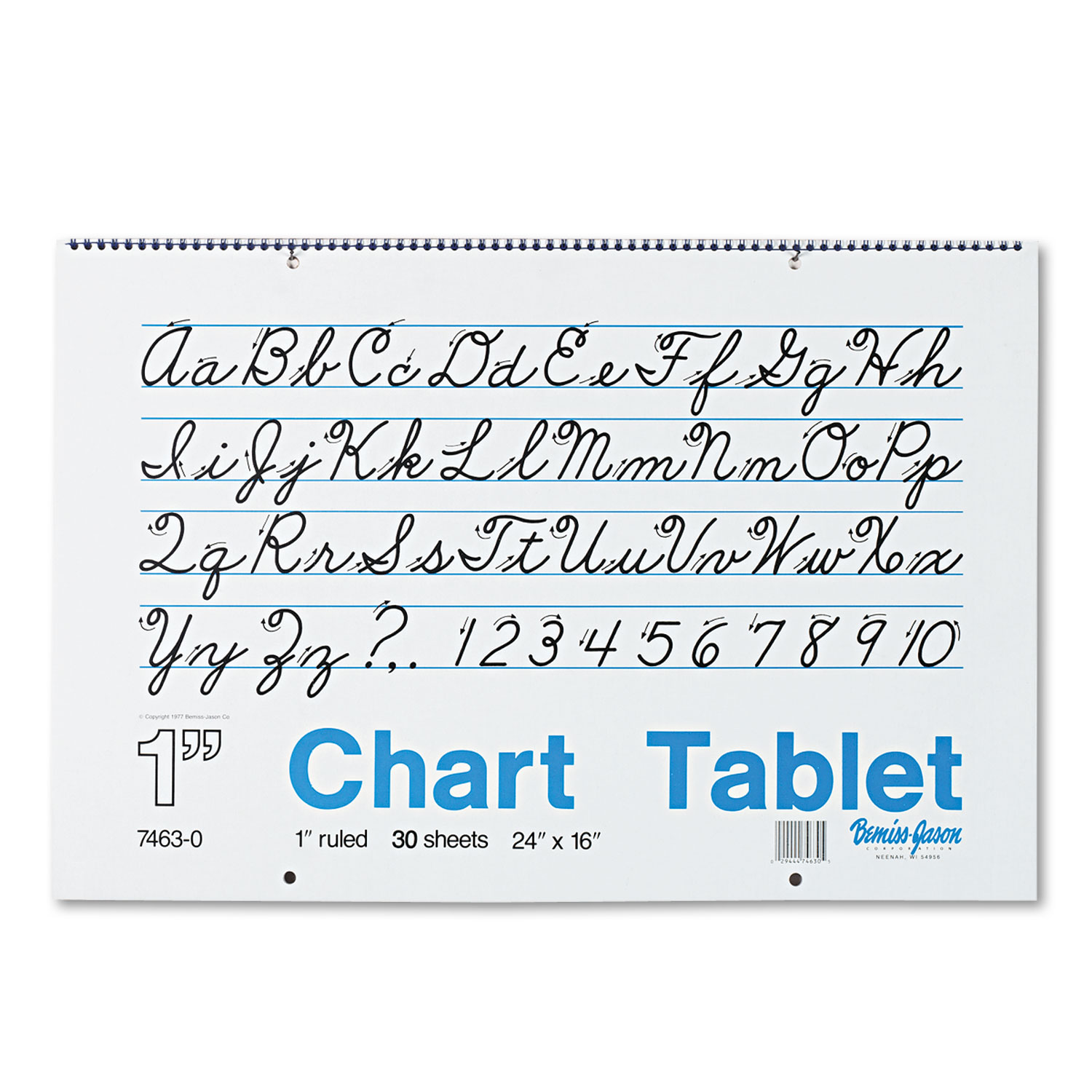 Chart Tablets W Cursive Cover By Pacon Pac