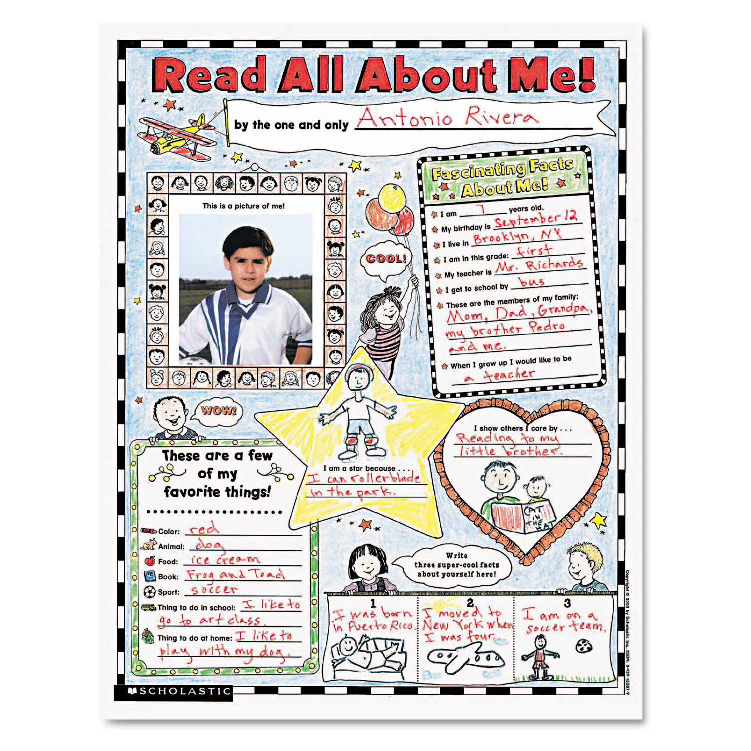 Instant Personal Poster Sets By Scholastic Shs
