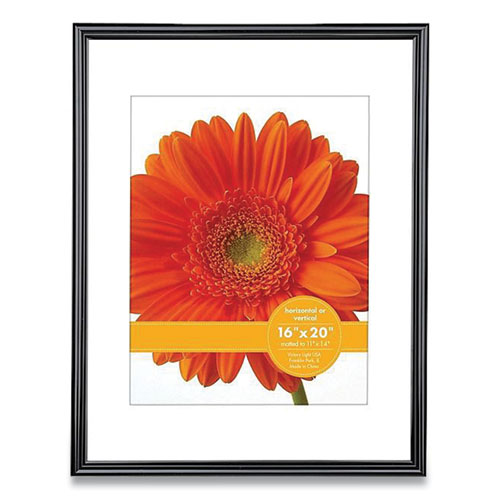plastic poster frame with mat 16 x 20