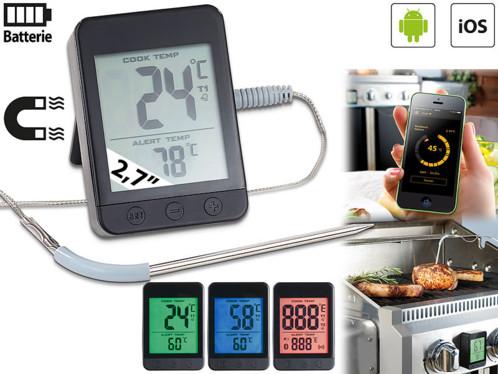 thermometre de cuisson avec bluetooth 4 0 et app 1 sonde