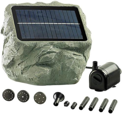 fontaine de bassin solaire biosphere