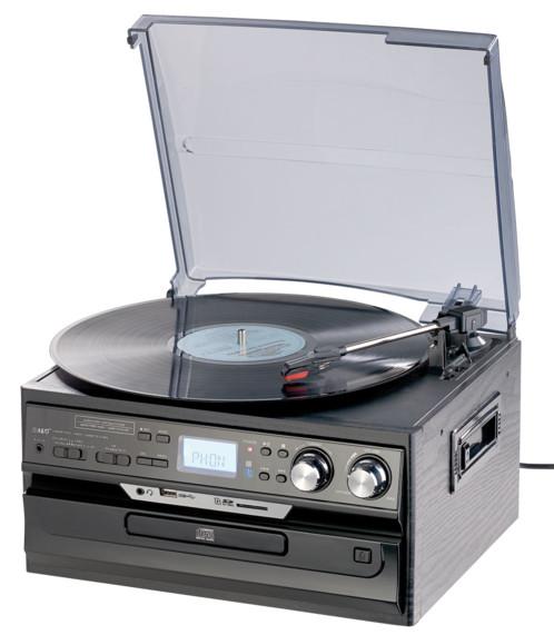chaine stereo 5 en 1 mhx 580 bt avec encodeur numerique