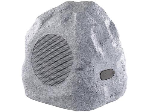 haut parleur outdoor actif sans fil 30 w design pierre