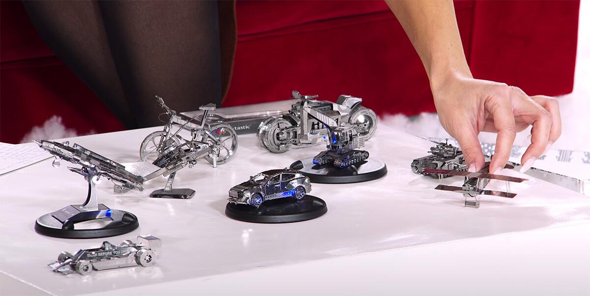 maquette 3d en metal voiture 49 pieces