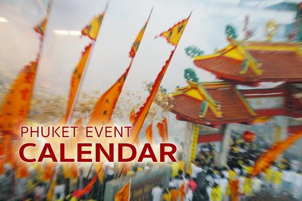 Phuket Event Calendar 2017