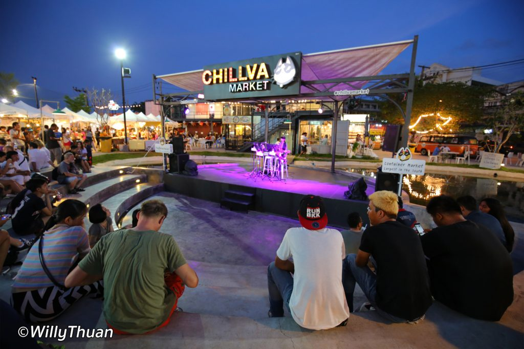 Chillva Night Market Live Performance