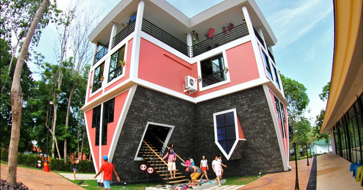 Phuket upside down house for Upside down beach house plans