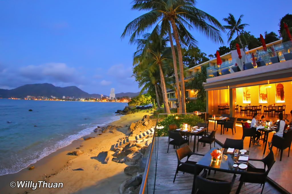 La Gritta Beachfront restaurant at Amari Phuket