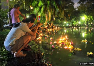 Loi Krathong in Phuket