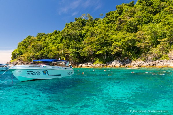 Diving in Phi Phi Island