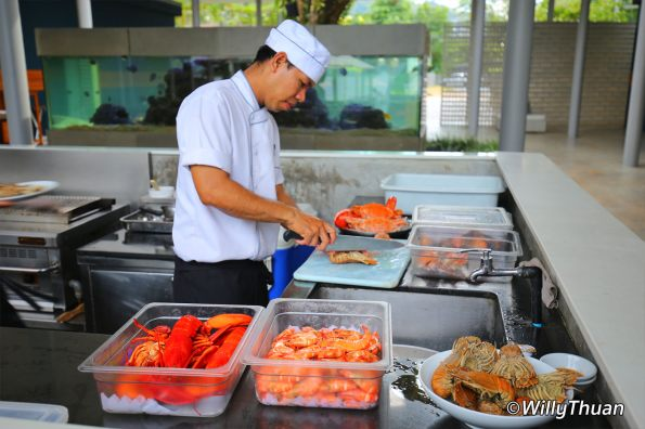Chef at Palm Seaside Restaurant