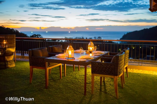 Sizzle Rooftop Restaurant at Avista Hideaway Patong