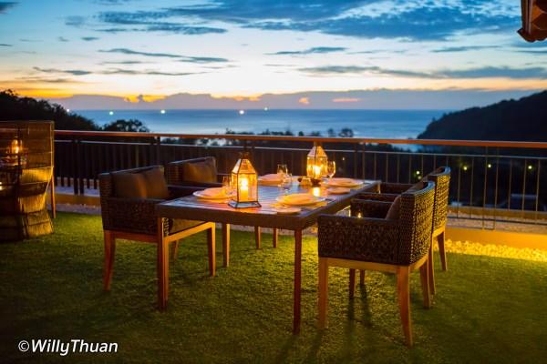 Sizzle Rooftop Restaurant at Avista Hideaway Patong