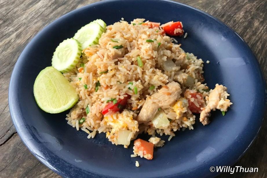 Fried Rice in Phuket