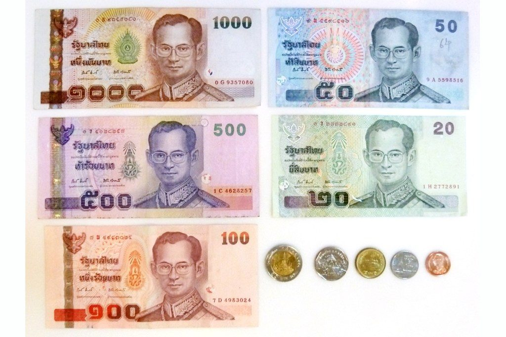Currency Exchange in Thailand