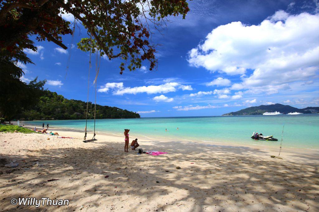Tri Trang Beach across the street